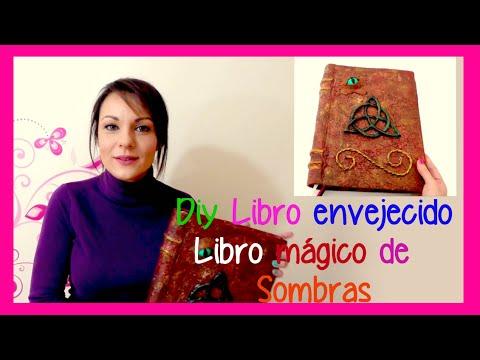 Como hacer un libro antiguo tipo libro de las sombras de Charmed Embrujadas Hechiceras