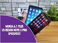 Nokia 6.1 Plus vs Xiaomi Redmi Note 5 Pro Speedtest Comparison