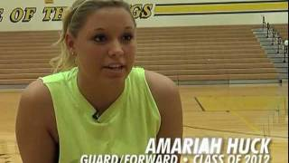 BASKETBALL RECRUIT: Amariah Huck (G/F) Tri-Valley HS, Class of 2012