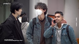 📱 would koreans lend their phones to foreigners? | social experiment
