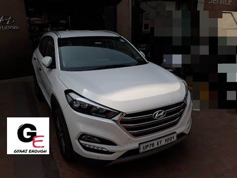 hyundai tucson 2017 actual showroom look with exteriors/interiors/real life review!!!