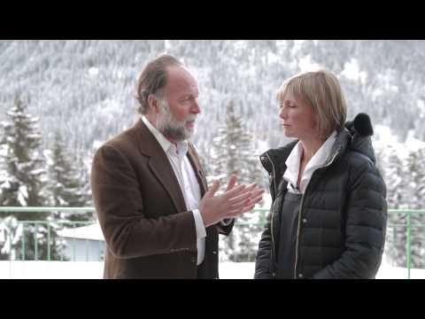 WEF Davos 2015 Hub Culture Mastercard Interview with Ricardo Hausmann