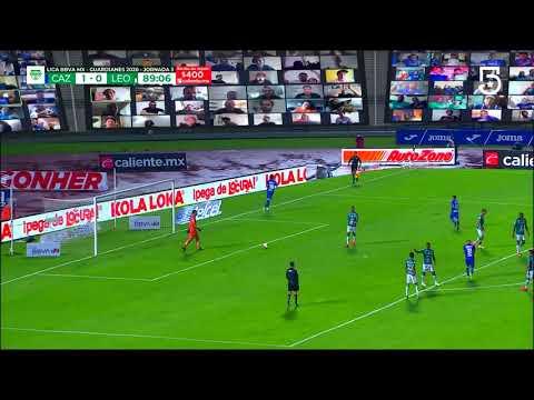 Cruz Azul [2] - 0 Leon (S. Gimenez 90') | Penalty