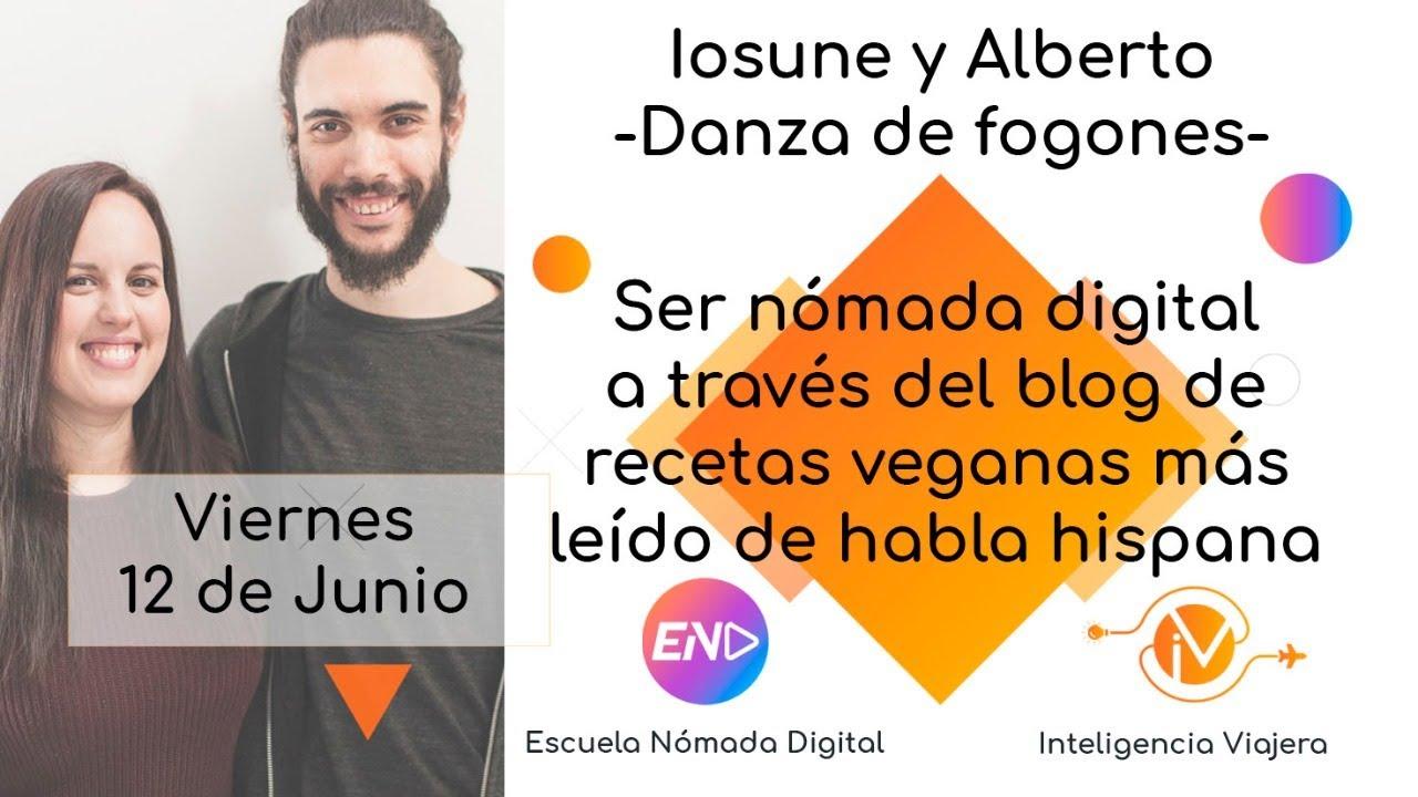 Ser nómada digital a través del blog de recetas veganas más leído de habla hispana