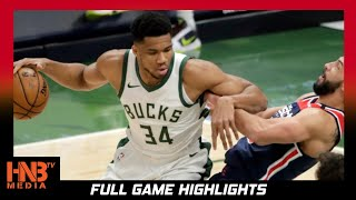 Washington Wizards vs Milwaukee Bucks 5.5.21 | Full Highlights