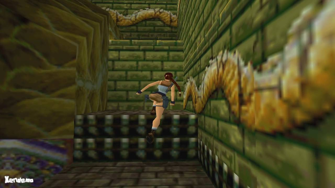 Tomb Raider 2 Walkthrough Temple Of Xian Youtube