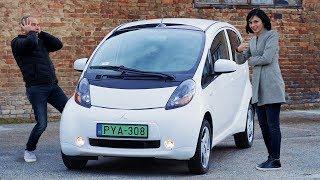 A legolcsóbb elektromos autó - Mitsubishi I-MiEV