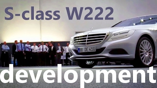 S-class w222 - how making Mercedes Benz