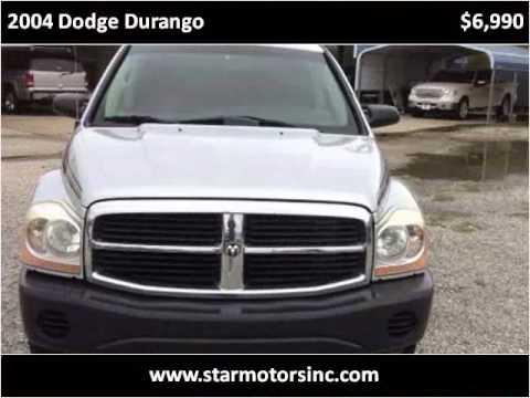 2004 dodge durango used cars new orleans la youtube. Black Bedroom Furniture Sets. Home Design Ideas