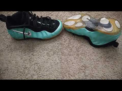 Nike foamposite how to clean the icey bottom