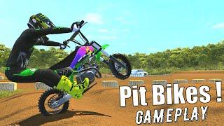 Pit Bikes 2021 - Kawasaki Mini MX Bike Gameplay !