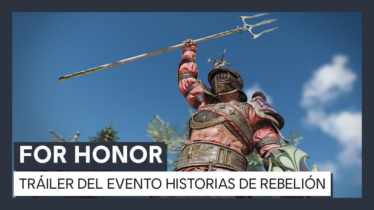 For Honor - Evento Y4S3: Historias de Rebelión - Tráiler