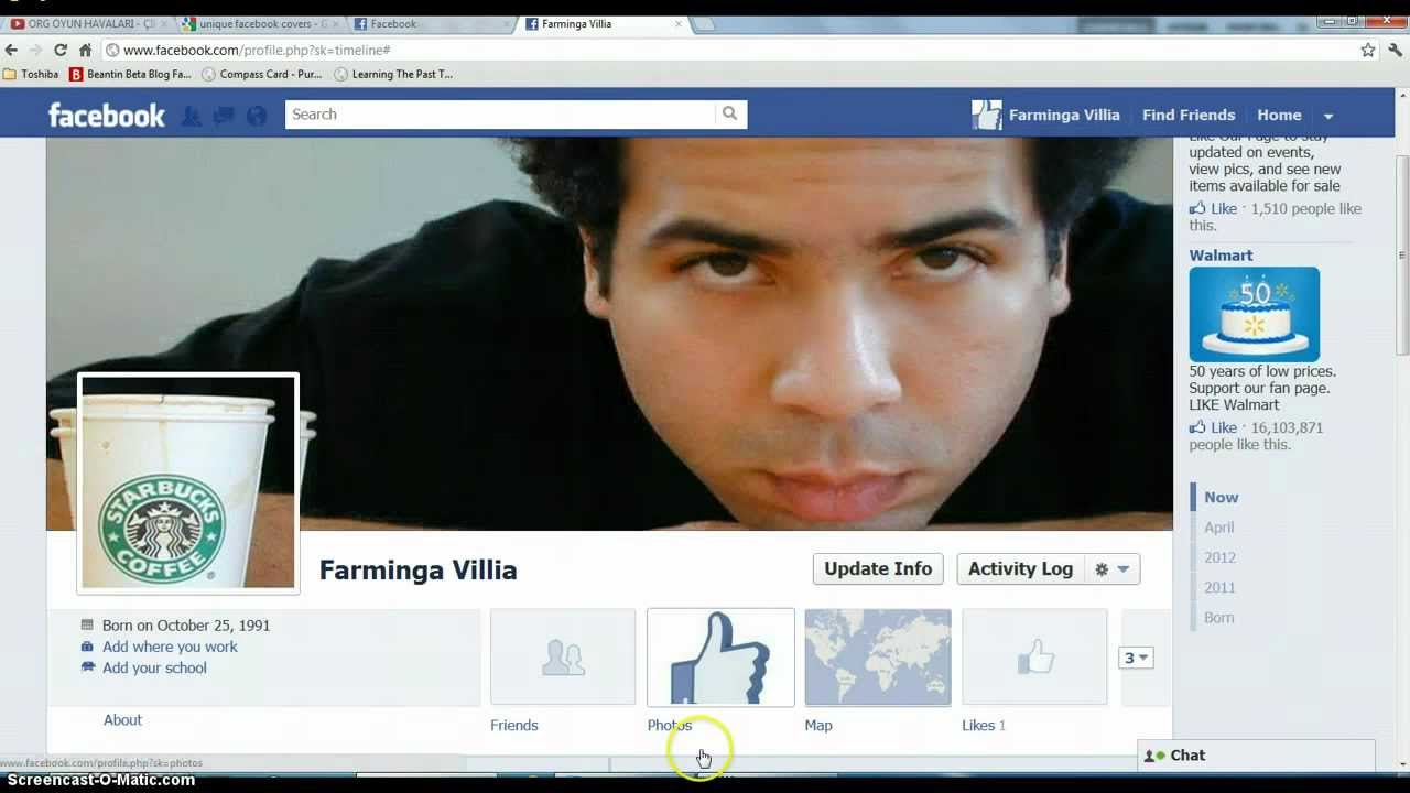 How To Merge Facebook Profile And Cover Picture Facebook Timeline