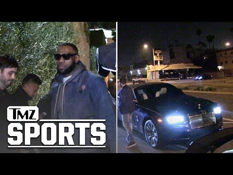 LeBron James Hit Diddy's Bday Party After Lakers Loss | TMZ Sports