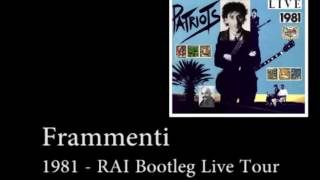 Watch Franco Battiato Frammenti video