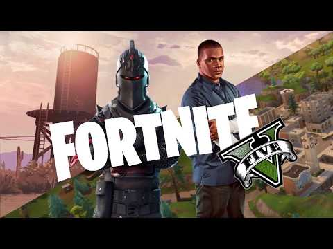 IF FORTNITE WAS MADE BY ROCKSTAR GAMES (GTA 5)