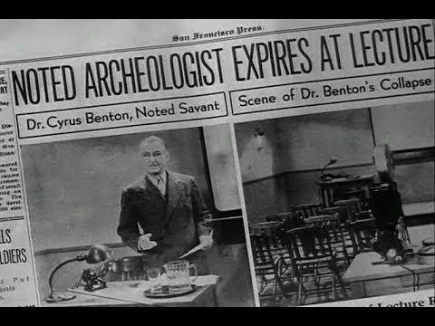 Archaeological Mystery Movie  Phantom Of Chinatown 1940