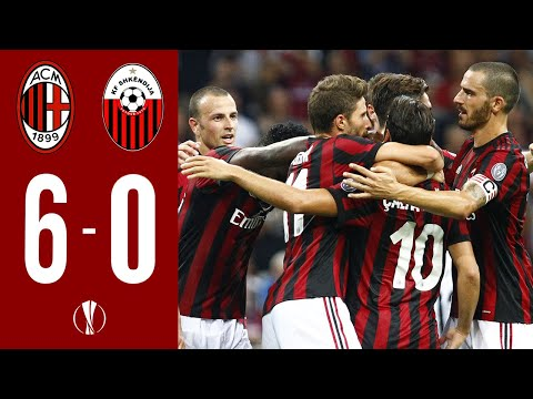MILAN 6-0 SHKENDIJA | Extented Highlights HD - Europa League Knock-out | MilanActu HD