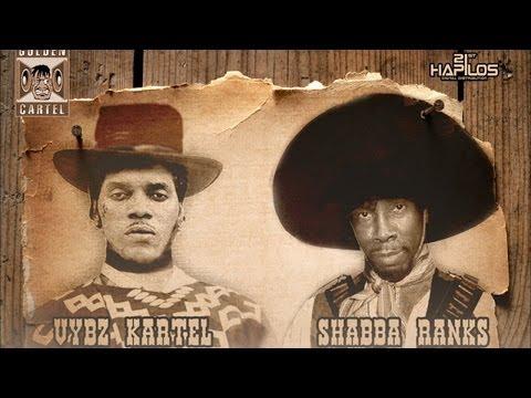 Vybz Kartel & Shabba Ranks - Bulletproof [Rolling Mad Riddim] March 2014