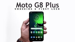 Moto G8 Plus: Unboxing | Hands on | Price Hindi हिन्दी