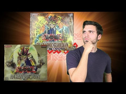 Yugioh Booster Box Battles! Ancient Sanctuary vs Pharaonic Guardian Simply Deck Building!
