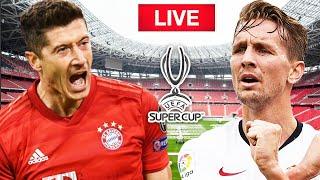 🔴 LIVE BAYERN MUNICH VS SEVILLA    SUPER CUP    WHO DO YOU THINK WIIL WIN?     WATCH ALONG!!
