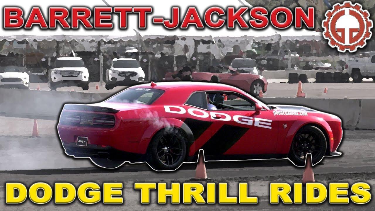 Dodge Thrill Rides Short - Barrett-Jackson 2019 - YouTube