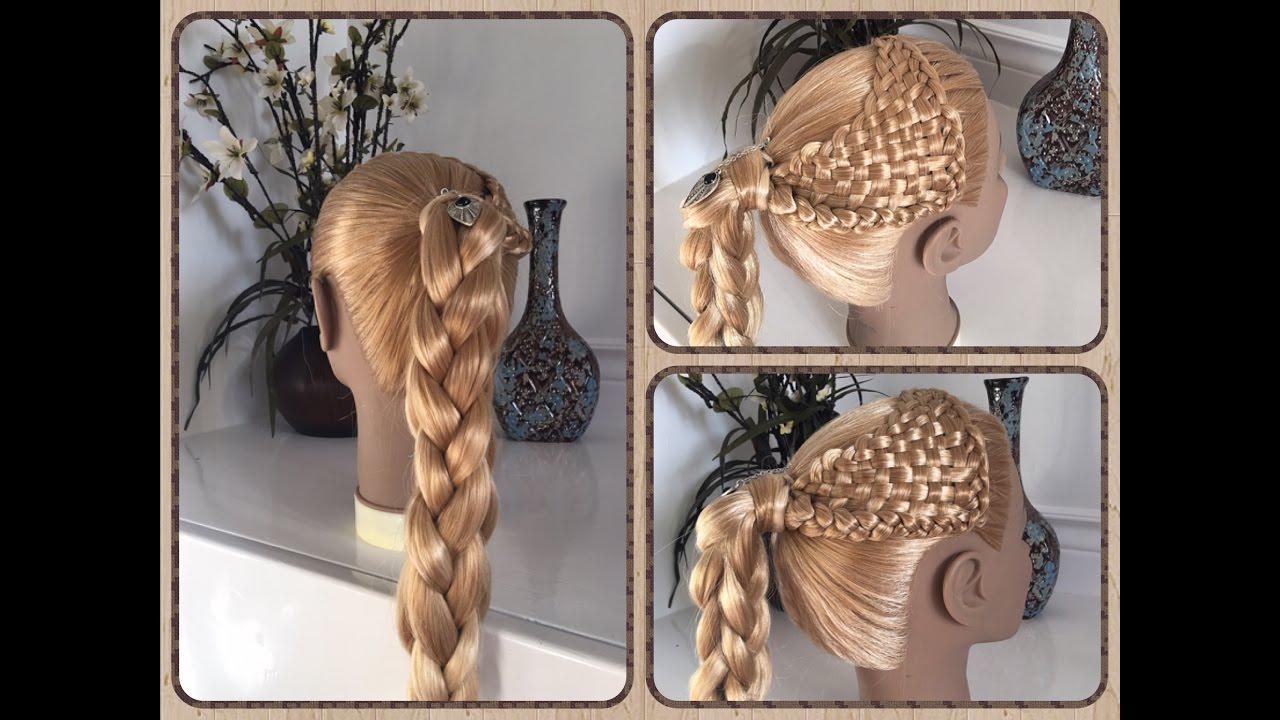 Peinados Para Ninas Faciles La Canasta Estrerillado Con Trenza