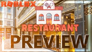 """Preview of """"Restaurant"""" on ROBLOX? - ROBLOX CAMPING"""