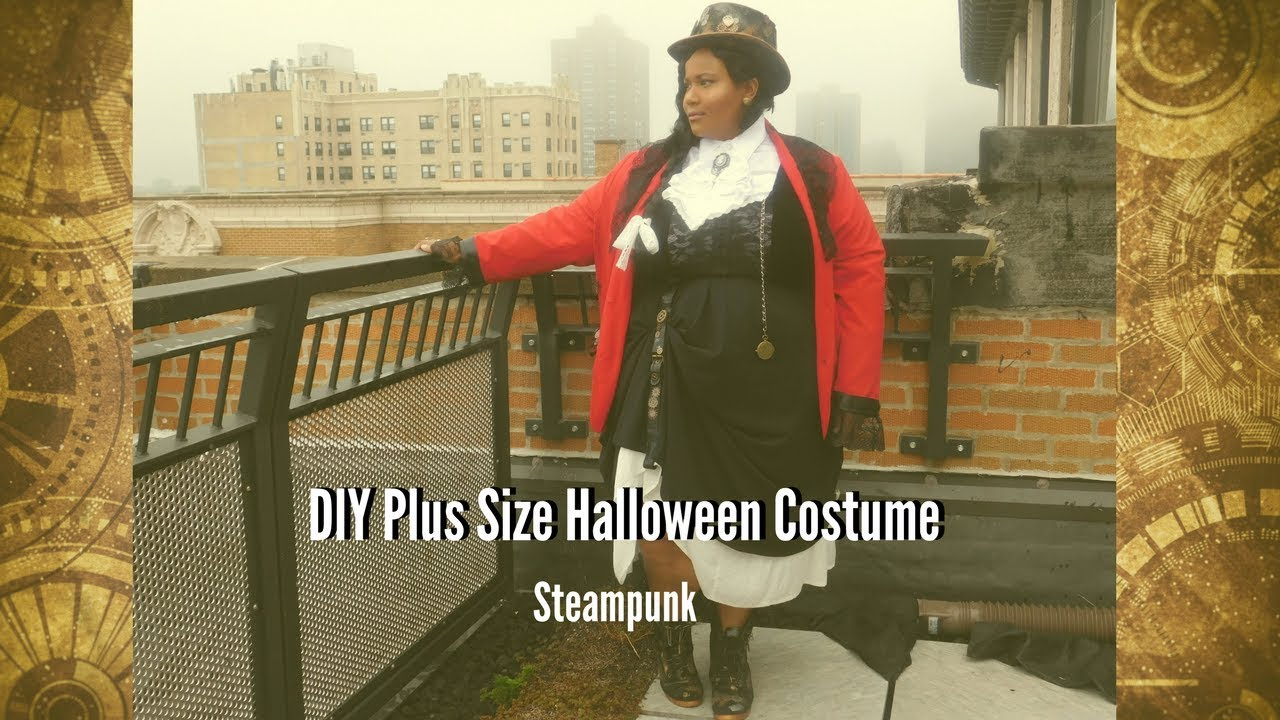 DIY Plus Size Halloween Costume | Steampunk