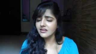 Beautiful girl singing - Alvida yaara alvida