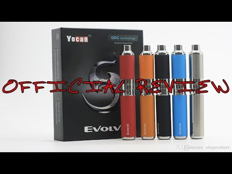 """YOCAN: EVOLVE"" CONCENTRATE PEN REVIEW!!"