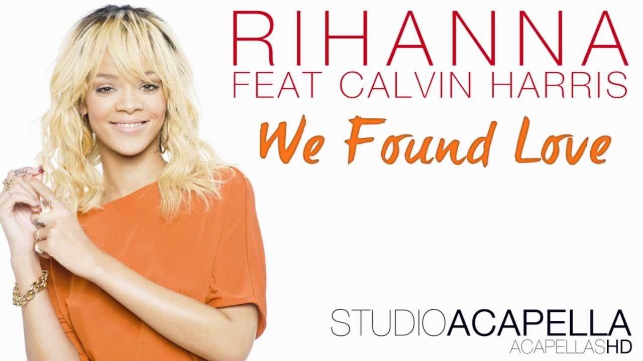 "New rihanna ""we found love"" pretty much amazing."