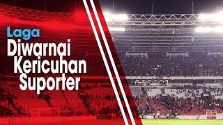 VIDEO Detik-detik Ricuh Laga Indonesia Vs Malaysia Kualifikasi Piala Dunia 2022