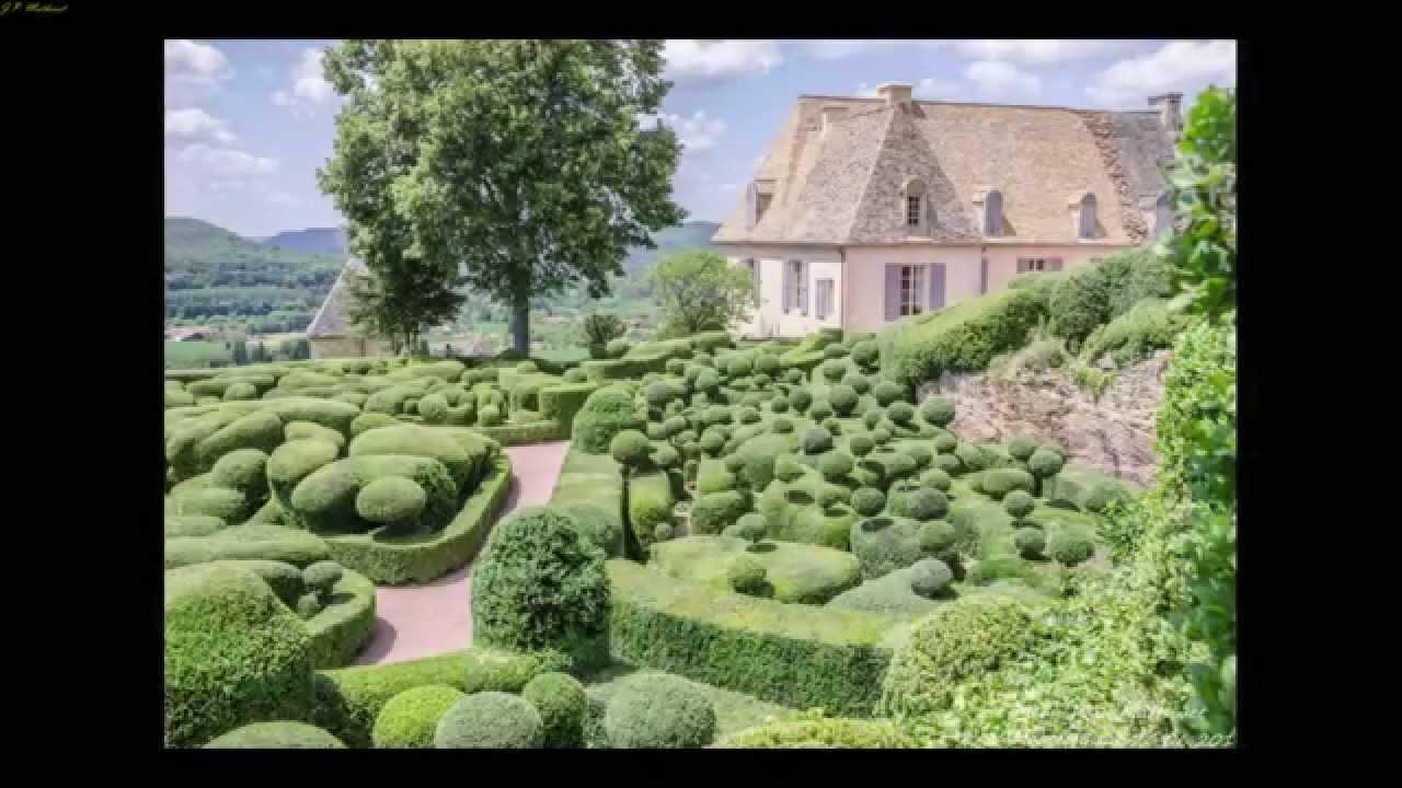 Les jardins suspendus de marqueyssac dordogne youtube for Jardin suspendu