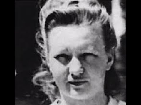 Female Nazi Guard and War Criminal Dorothea Binz