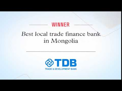 Global Trade Review - Best Trade Finance Bank of Mongolia 2014