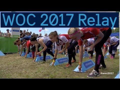 WOC 2017 Relay