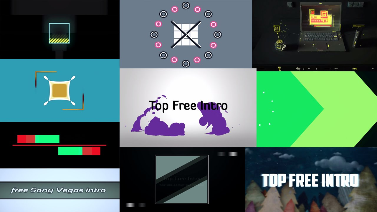 Sony Vega Pro 13 Top 10 2d Intro Template 2016 Sony Vegas Pro 13 Free Download