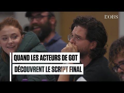 Game Of Thrones : Quand Les Acteurs Découvrent Le Script Final