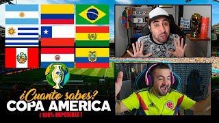 ¿CUANTO SABES DE LA COPA AMÉRICA 2019? con PAPI GAVI