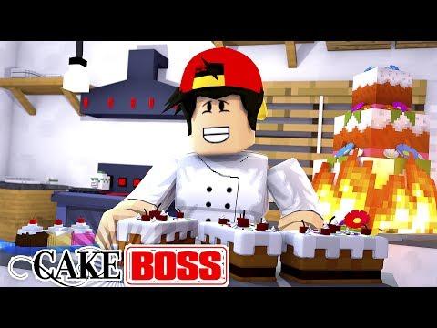 ROBLOX Adventure - CAKE BOSS, MY OWN TV SHOW!!!