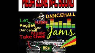 Gambar cover 90s REGGAE AND DANCEHALL MUSIC (MEGA ZONE IN-L SOUND)