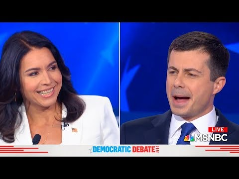 Tulsi Gabbard Corners Pete Buttigieg at Democratic Debate, He Reveals His True Colors