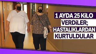 Süper Obez Çift, Tüp Mide Ameliyatıyla Şifa Buldu