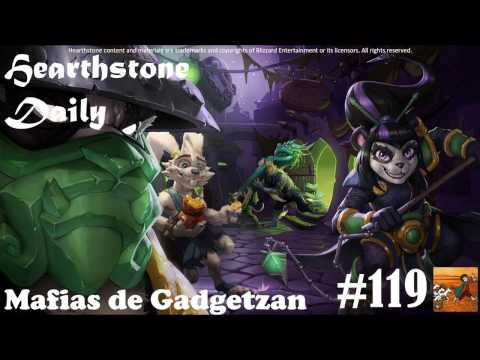 [Hearhtstone] Daily 119: Mafias de Gadgetzan - Loto de Jade