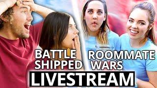 Battle Shipped X Roommate Wars w/ JC Caylen and Claudia Sulewski Mashup Live Stream Marathon!