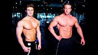 Ifbb Pro Physique Competitors Jeff Seid & Matt Patison - Chest Workout