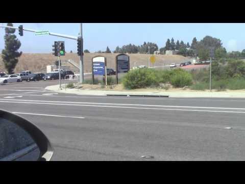 Ride along Driving to Del Mar, CA
