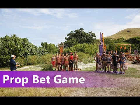 Survivor: Ghost Island Prop Bet Game - Win A Buff!